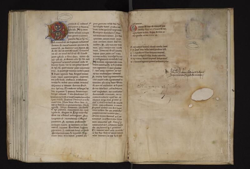 ARRAS, Bibliothèque municipale, 0036 (0825), f. 091v - 092r