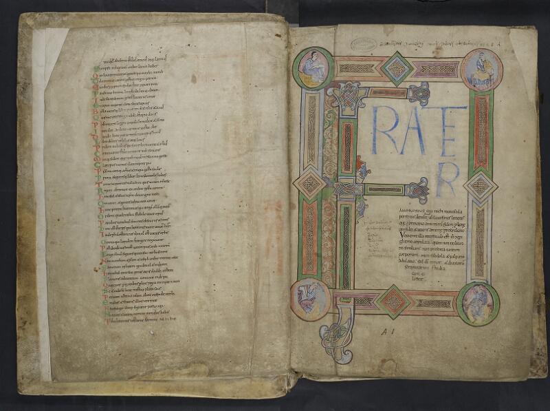 ARRAS, Bibliothèque municipale, 0435 (0559), vol. 1, f. 001v - 002r