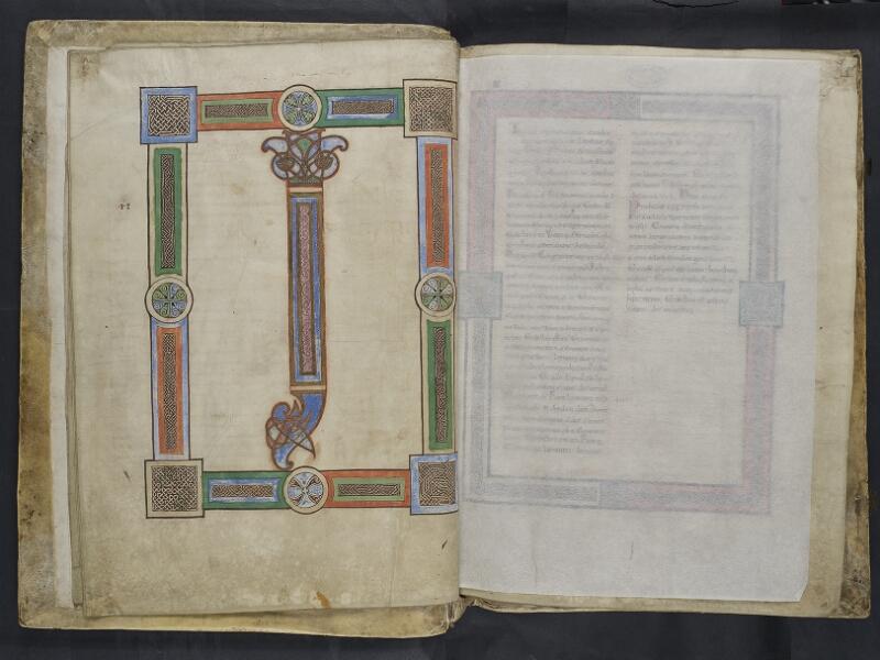 ARRAS, Bibliothèque municipale, 0435 (0559), vol. 1, f. 005v - feuille de soie