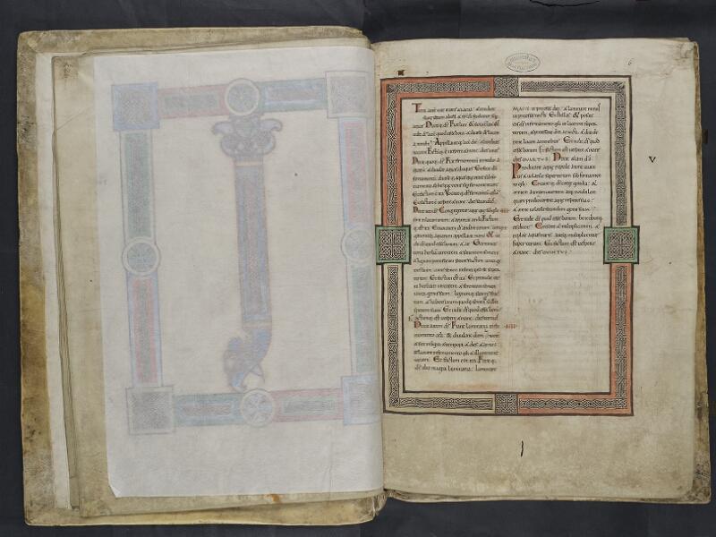 ARRAS, Bibliothèque municipale, 0435 (0559), vol. 1, feuille de soie - 006r