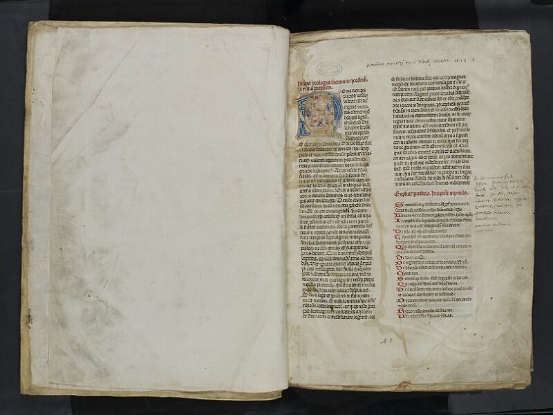 ARRAS, Bibliothèque municipale, 0435 (0559), vol. 2, garde verso - 001r