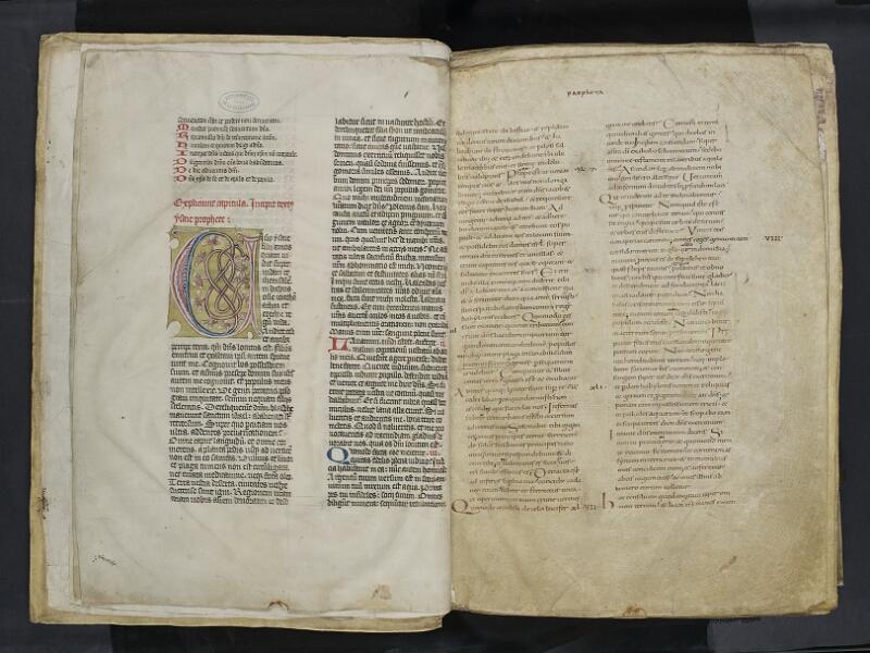 ARRAS, Bibliothèque municipale, 0435 (0559), vol. 2, f. 002v - 003r