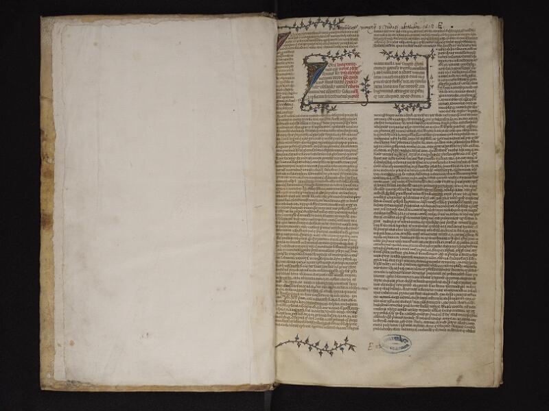 ARRAS, Bibliothèque municipale, 0457 (0570), garde v - f. 001r