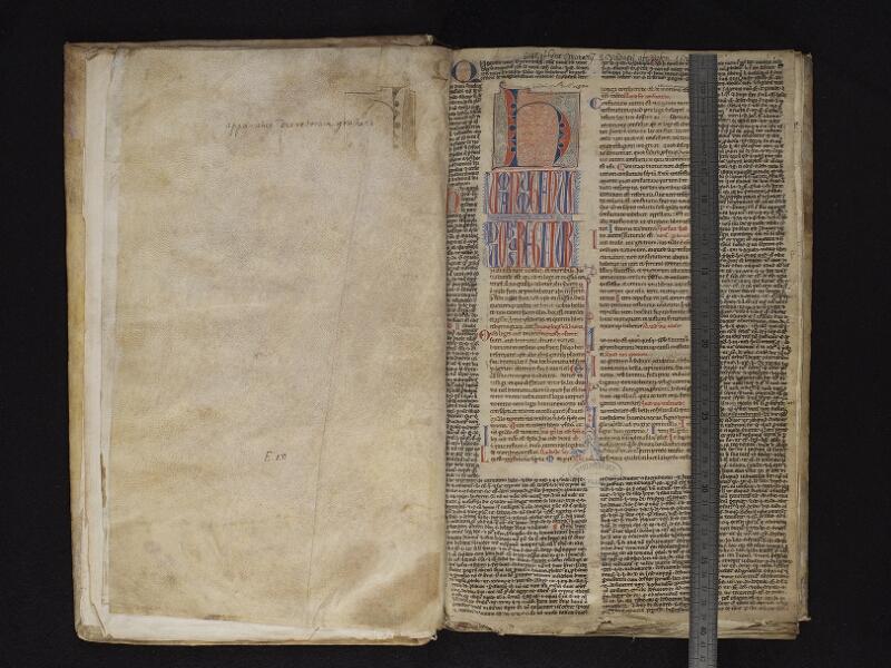 ARRAS, Bibliothèque municipale, 0472 (0809), f. 002v – 003r avec réglet