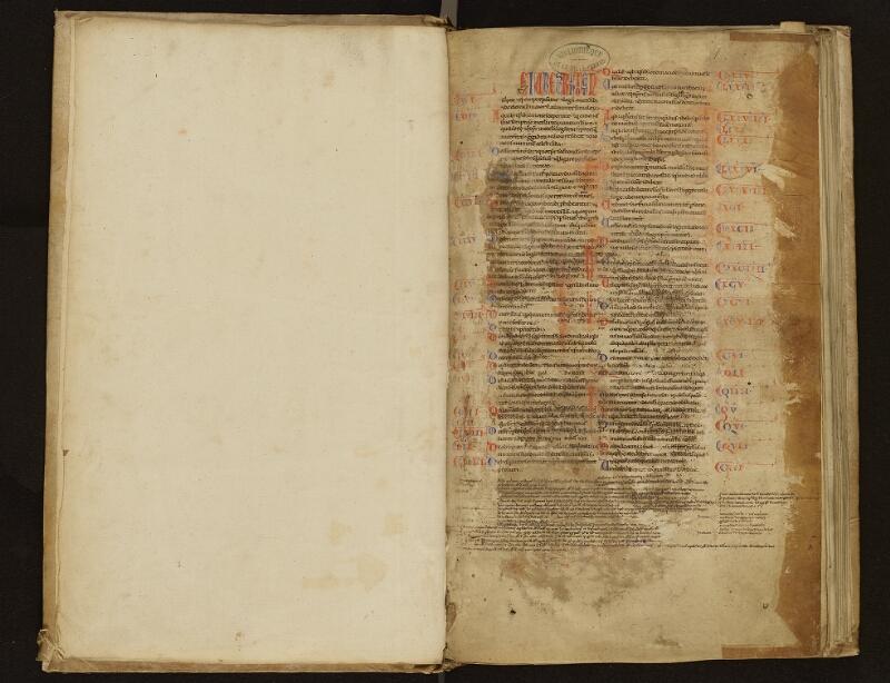 ARRAS, Bibliothèque municipale, 0500 (0592), gardeA verso - f. 001r