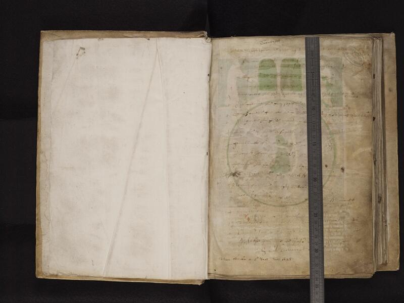 ARRAS, Bibliothèque municipale, 0532 (0845), gardeA v - 001 r avec reglé