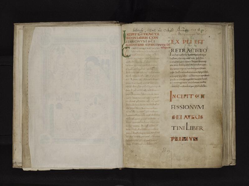 ARRAS, Bibliothèque municipale, 0548 (0616), papier de soie verso - 002r