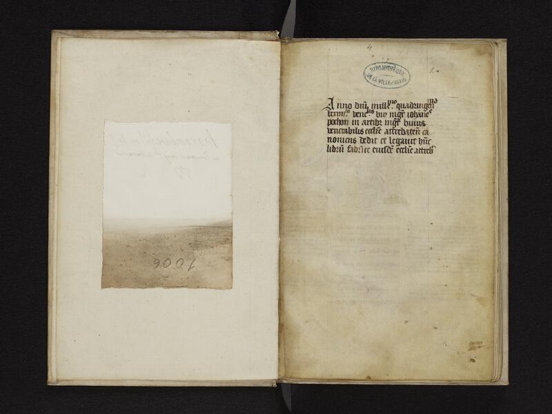 ARRAS, Bibliothèque municipale, 1006 (0707), gardeA v - 001r + feuille v