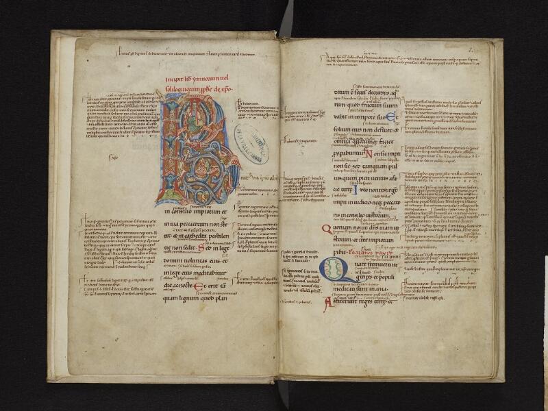 ARRAS, Bibliothèque municipale, 1006 (0707), f. 001v - 002r