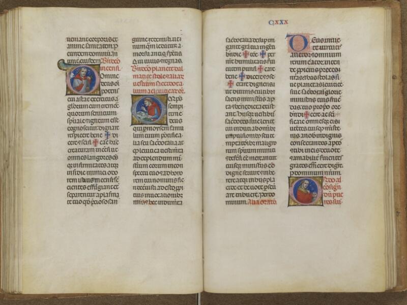AUTUN, Bibliothèque municipale, 276, f. 129v - 130