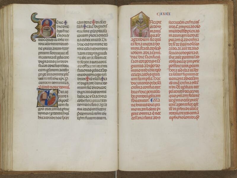 AUTUN, Bibliothèque municipale, 276, f. 132v - 132