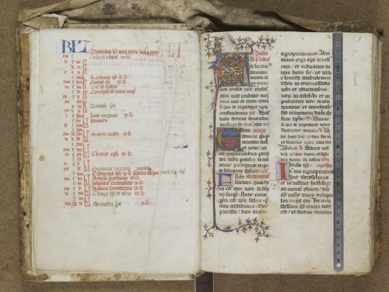 AUTUN, Bibliothèque municipale, S 145 (121), f. 008v - 009 (avec réglet)