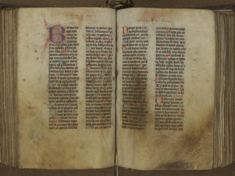 AUTUN, Bibliothèque municipale, S 157 (136), f. 242v - 243