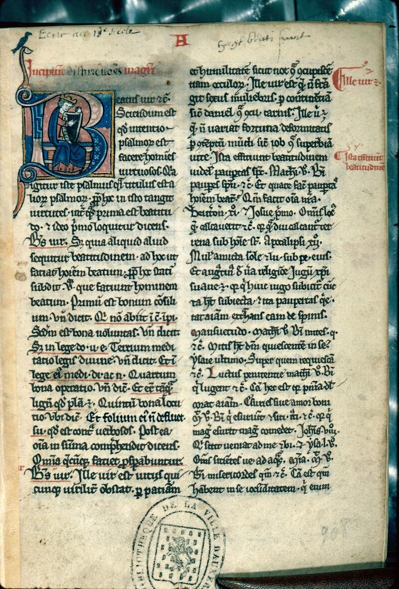 Auxerre, Bibl. mun., ms. 0004, f. 002 - vue 1