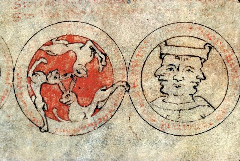 Auxerre, Bibl. mun., ms. 0007, f. 001v - vue 3