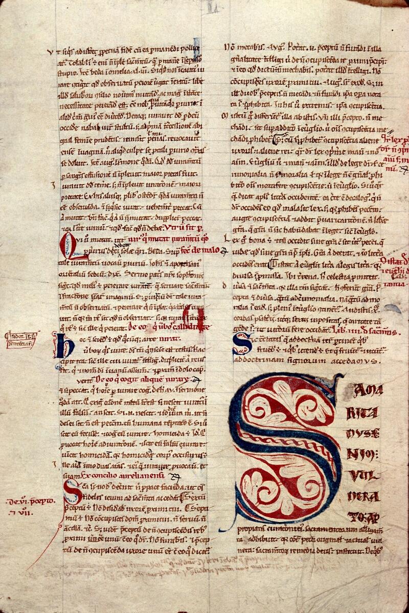 Auxerre, Bibl. mun., ms. 0009, f. 097v