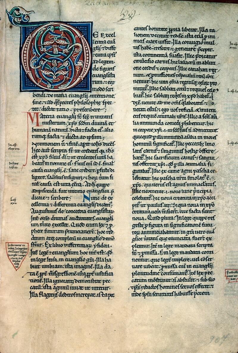 Auxerre, Bibl. mun., ms. 0011, f. 001