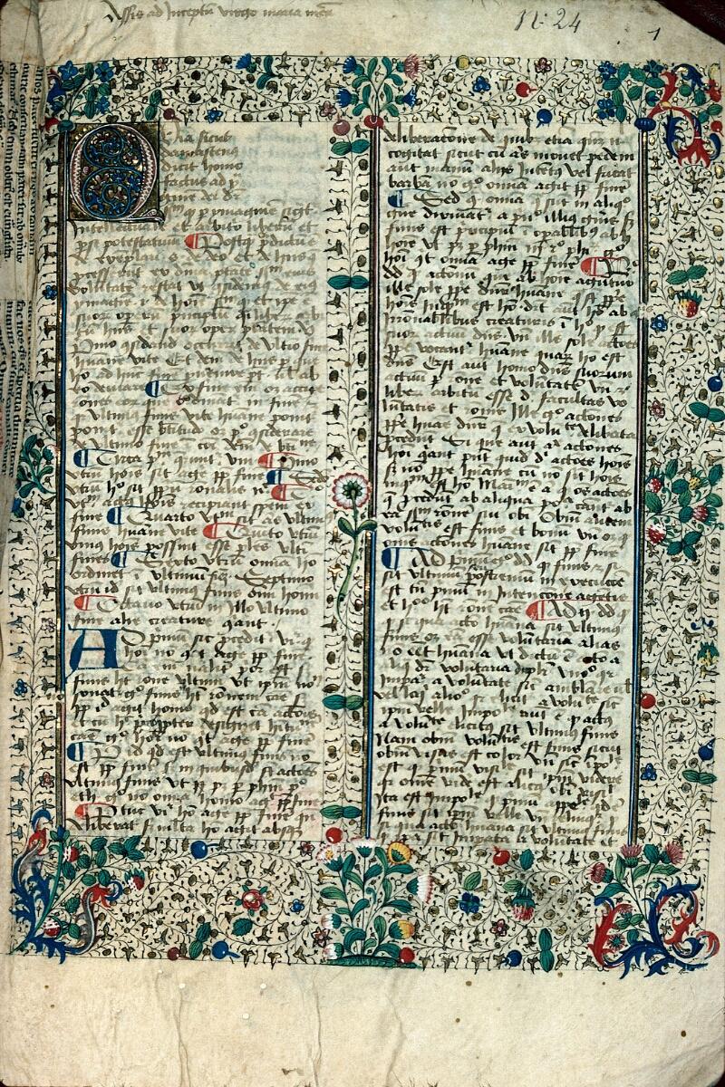 Auxerre, Bibl. mun., ms. 0024, f. 001