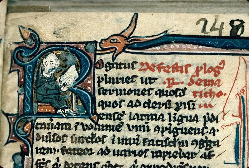 Auxerre, Bibl. mun., ms. 0041, f. 001 - vue 2