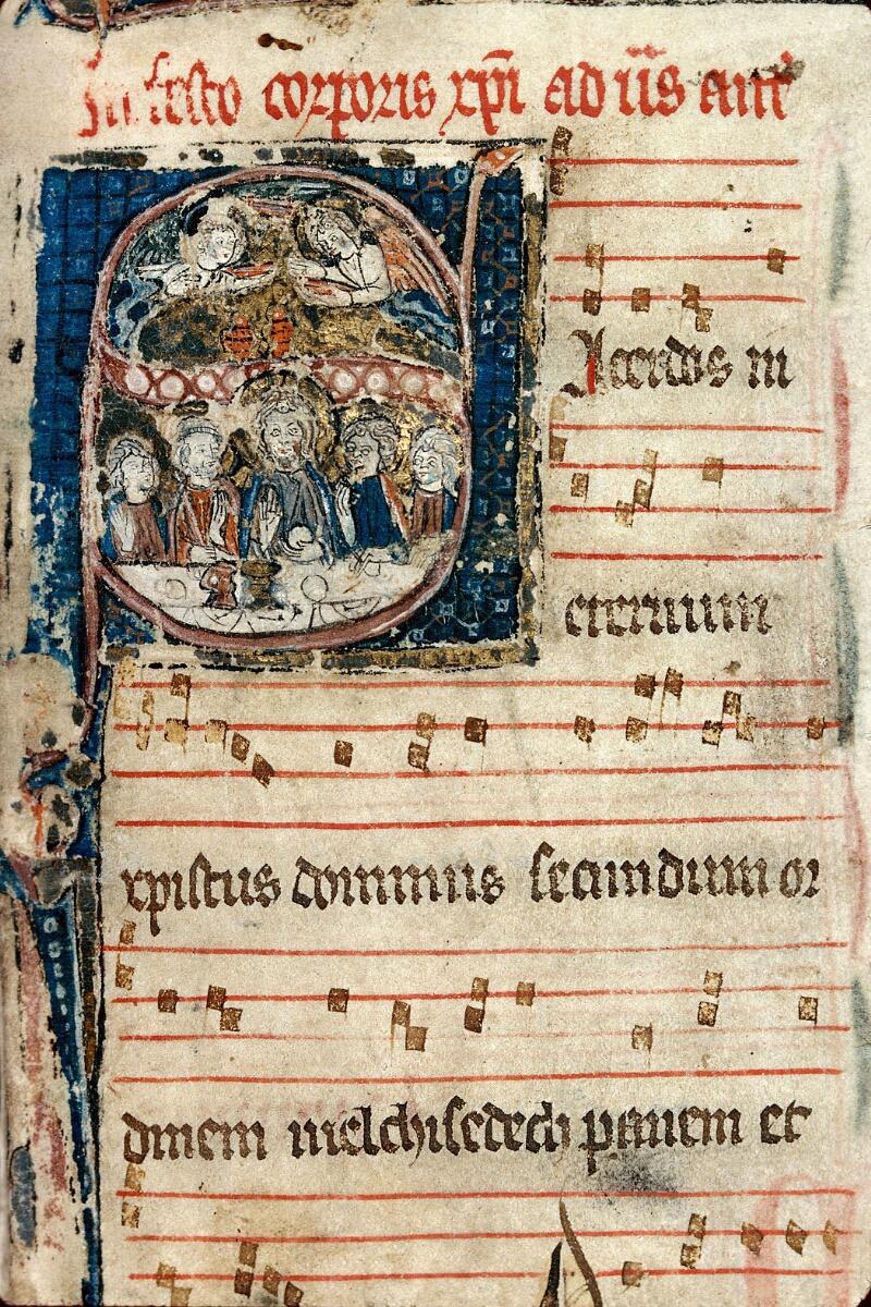 Auxerre, Bibl. mun., ms. 0060, f. 001 - vue 2