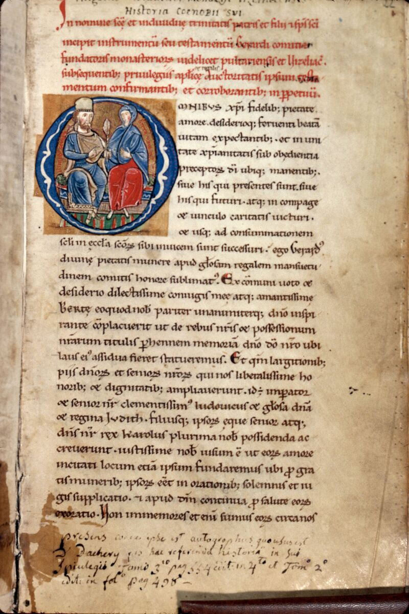 Auxerre, Bibl. mun., ms. 0227, f. 022 - vue 1