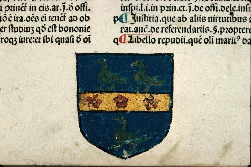 Auxerre, Bibl. mun., inc. E 44, f. 001 - vue 3
