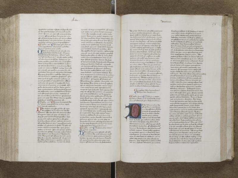 AUXERRE, Bibliothèque municipale, 018, f. 253v - 254