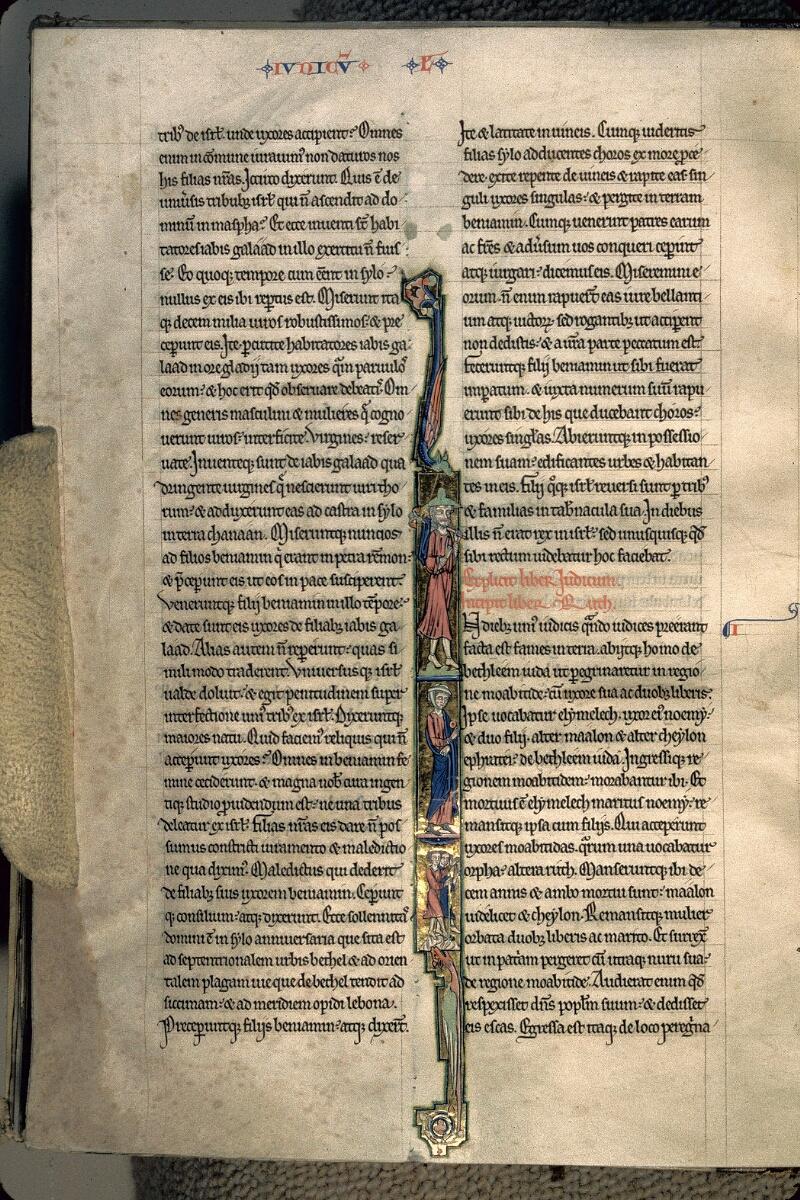 Avranches, Bibl. mun., ms. 0002, f. 124v - vue 1