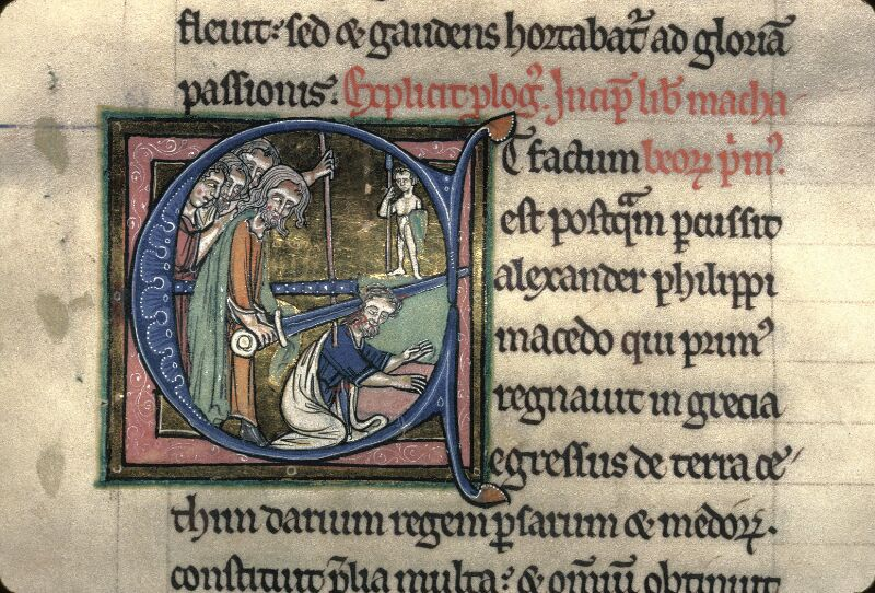 Avranches, Bibl. mun., ms. 0002, f. 258 - vue 3