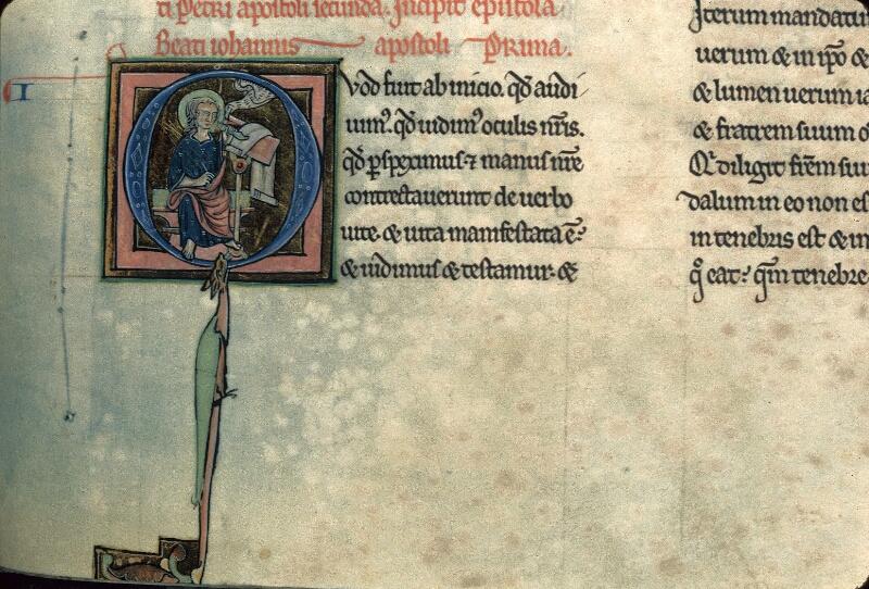 Avranches, Bibl. mun., ms. 0003, f. 265 - vue 1