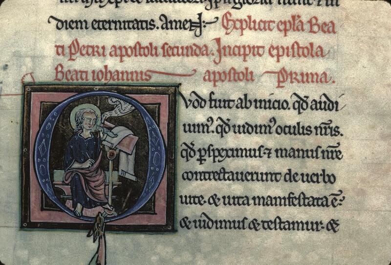 Avranches, Bibl. mun., ms. 0003, f. 265 - vue 2