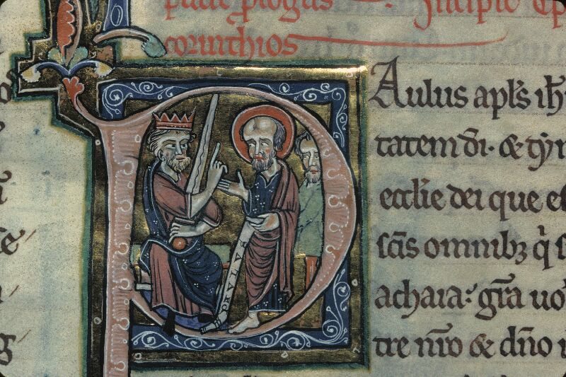 Avranches, Bibl. mun., ms. 0003, f. 280 - vue 2