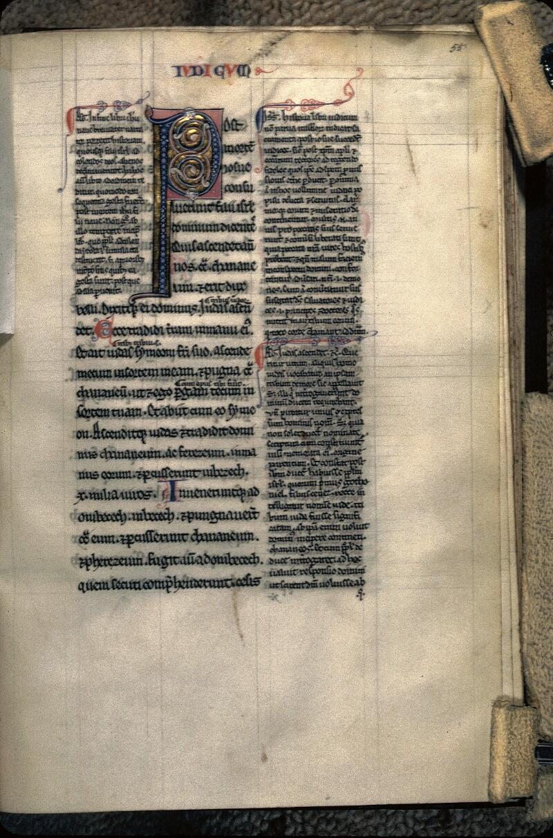 Avranches, Bibl. mun., ms. 0007, f. 055 - vue 1