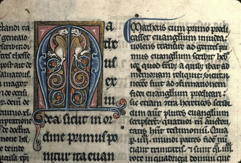 Avranches, Bibl. mun., ms. 0024, f. 001