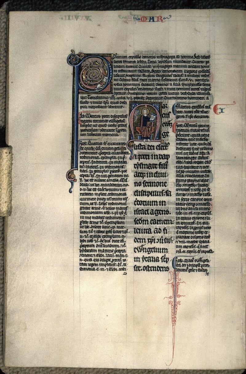 Avranches, Bibl. mun., ms. 0024, f. 097v - vue 1