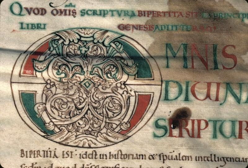 Avranches, Bibl. mun., ms. 0035, f. 075v - vue 2