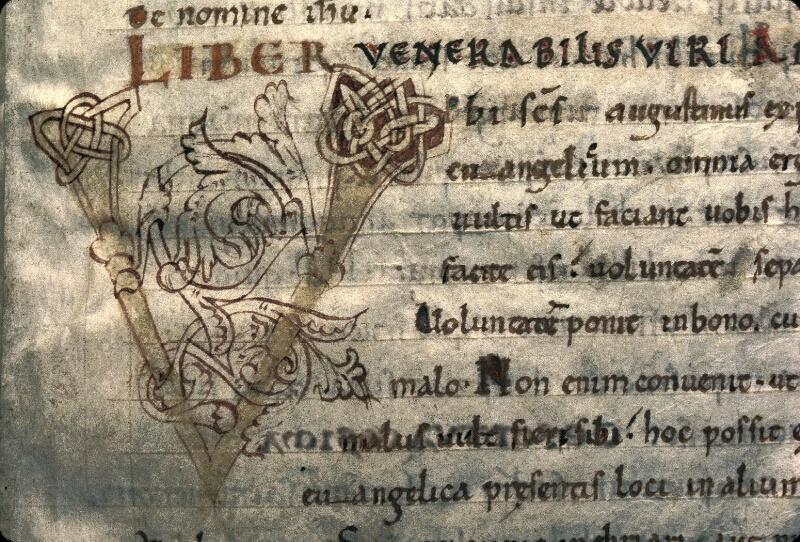 Avranches, Bibl. mun., ms. 0038, f. 002 - vue 2