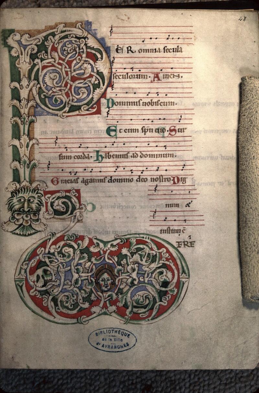 Avranches, Bibl. mun., ms. 0041, f. 048 - vue 1