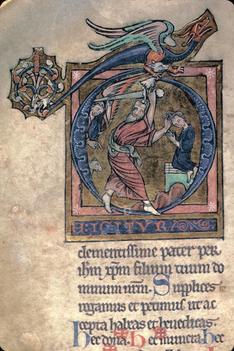 Avranches, Bibl. mun., ms. 0042, f. 140v - vue 2