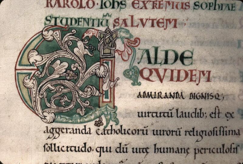 Avranches, Bibl. mun., ms. 0047, f. 007v