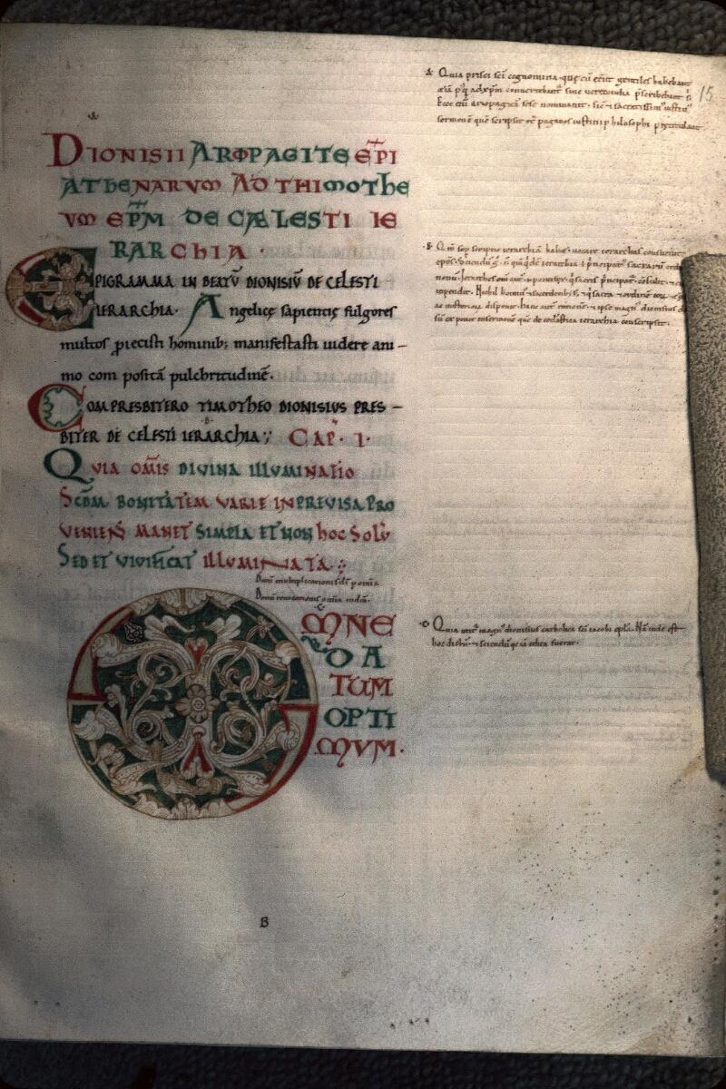 Avranches, Bibl. mun., ms. 0047, f. 015 - vue 1