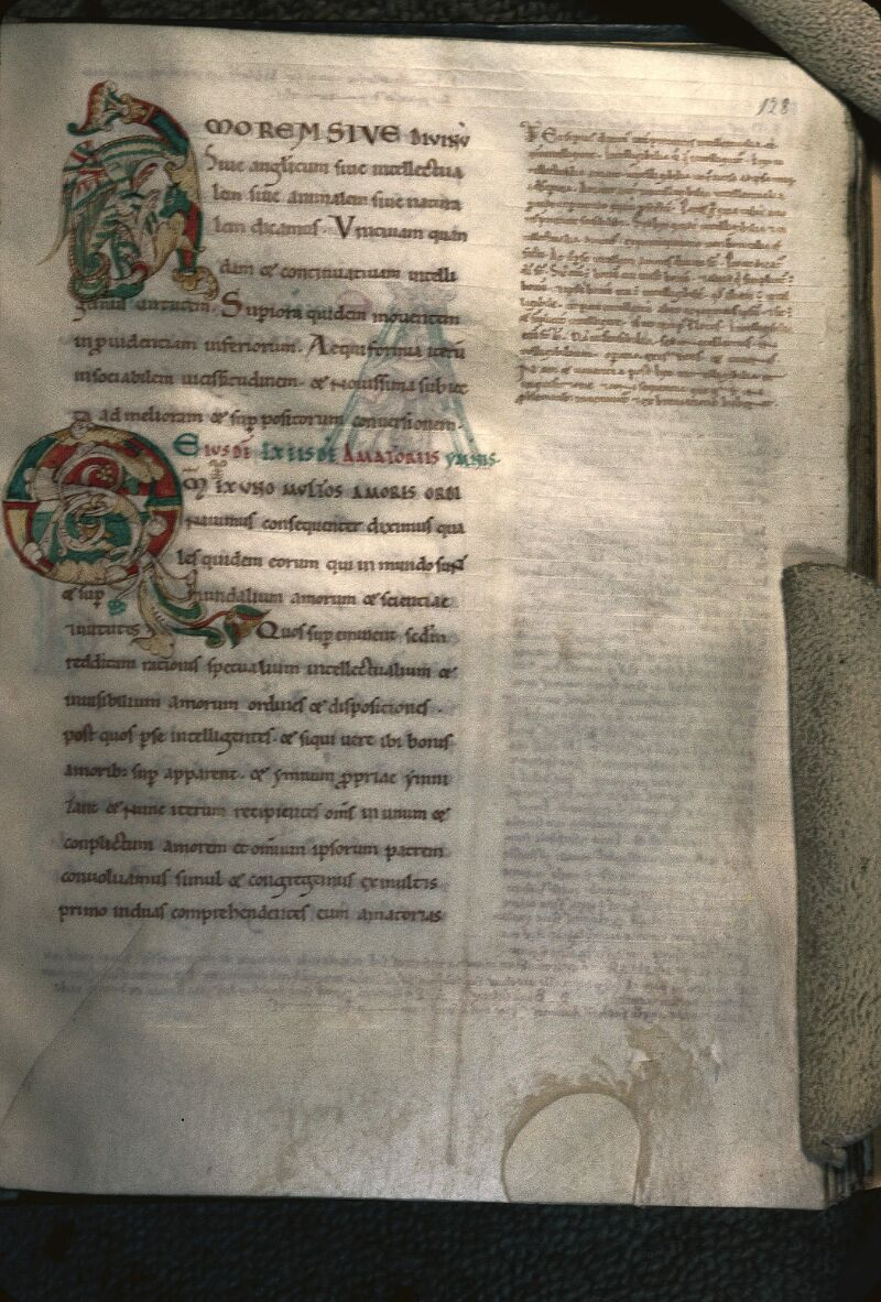 Avranches, Bibl. mun., ms. 0047, f. 128 - vue 1