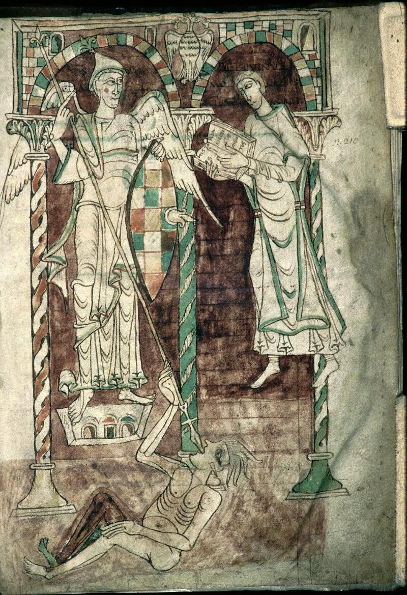 Avranches, Bibl. mun., ms. 0050, f. 001 - vue 1