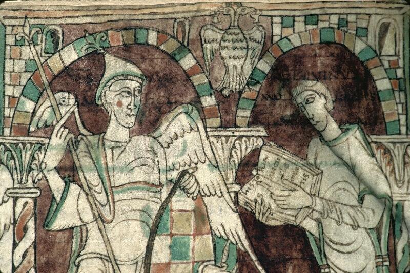 Avranches, Bibl. mun., ms. 0050, f. 001 - vue 2