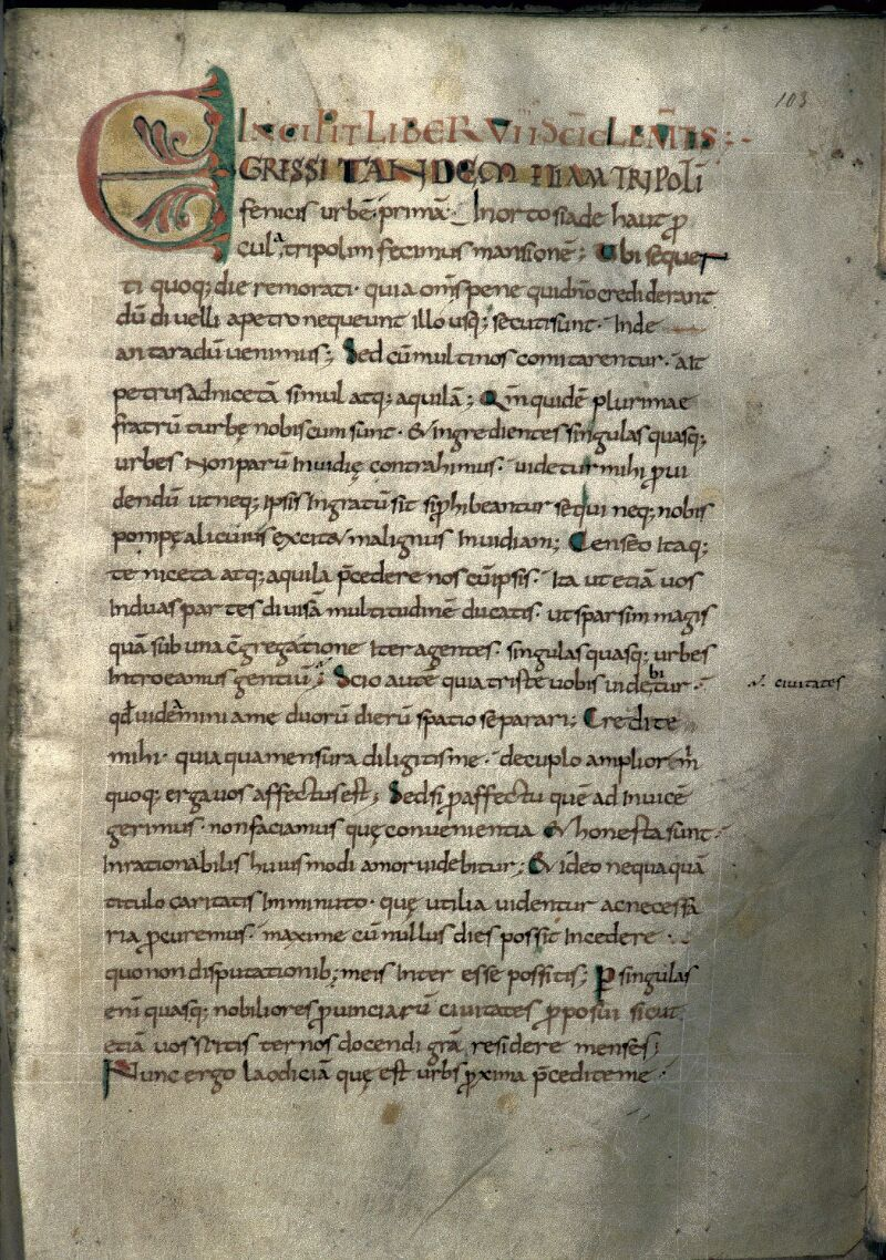 Avranches, Bibl. mun., ms. 0050, f. 103
