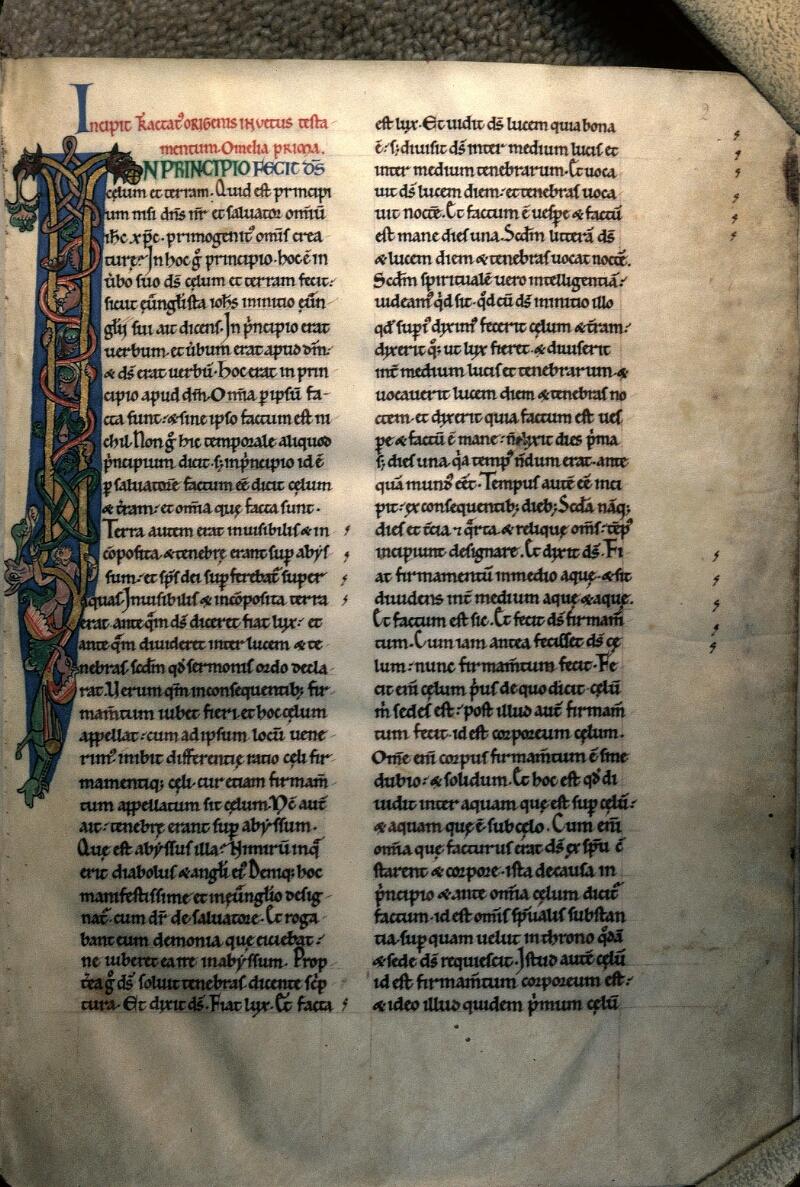 Avranches, Bibl. mun., ms. 0052, f. 002 - vue 1