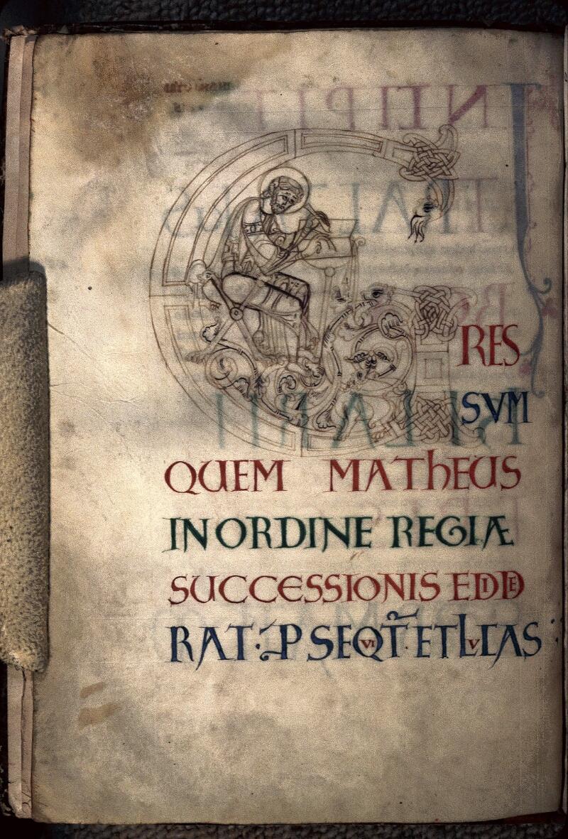 Avranches, Bibl. mun., ms. 0058, f. 003v - vue 1