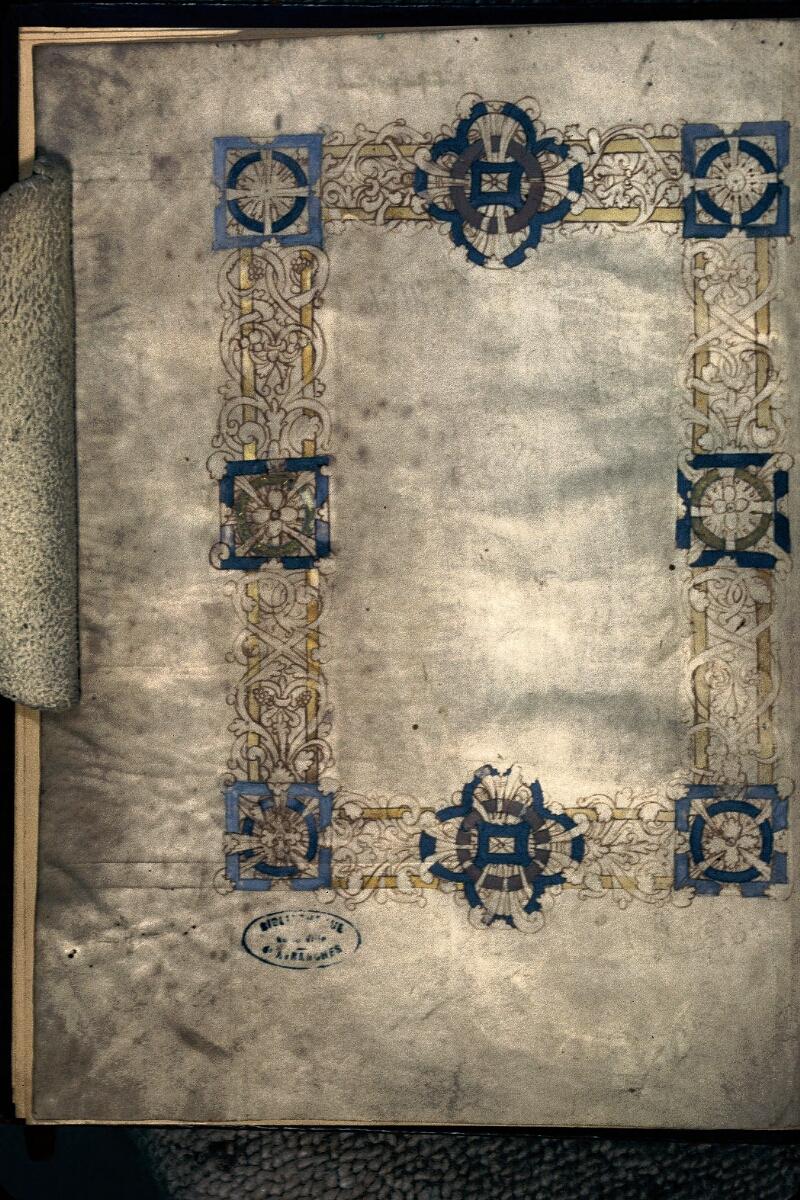 Avranches, Bibl. mun., ms. 0059, f. 001v