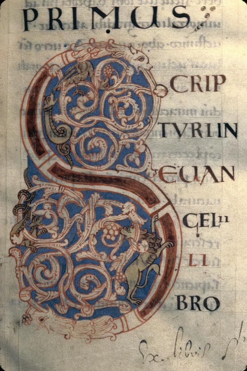 Avranches, Bibl. mun., ms. 0059, f. 002 - vue 2