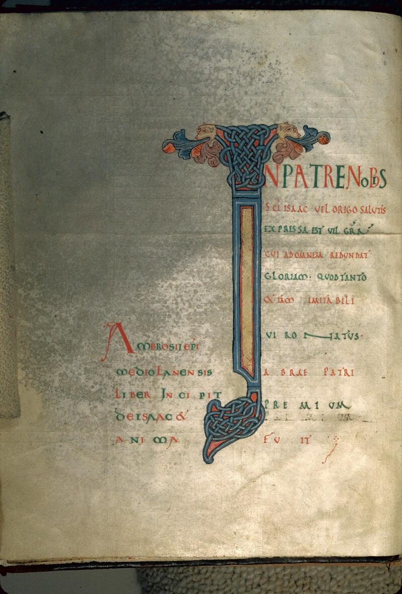 Avranches, Bibl. mun., ms. 0061, f. 002v